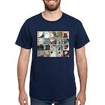 Twenty Pigeon Heads Dark T-Shirt