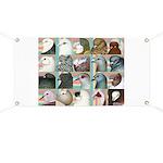 Twenty Pigeon Heads Banner