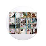 """Twenty Pigeon Heads 3.5"""" Button"""