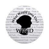 WWJD Ornament (Round)