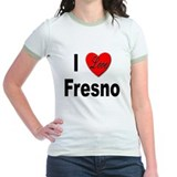 I Love Fresno California (Front) T