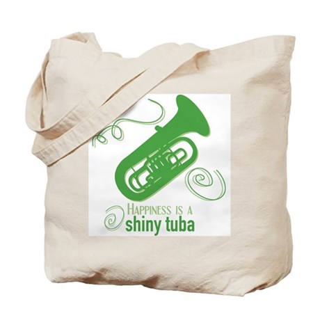Shiny Tuba Tote Bag