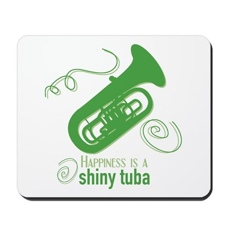 Shiny Tuba Mousepad