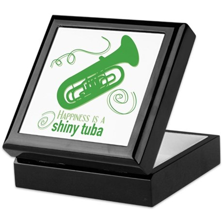 Shiny Tuba Keepsake Box