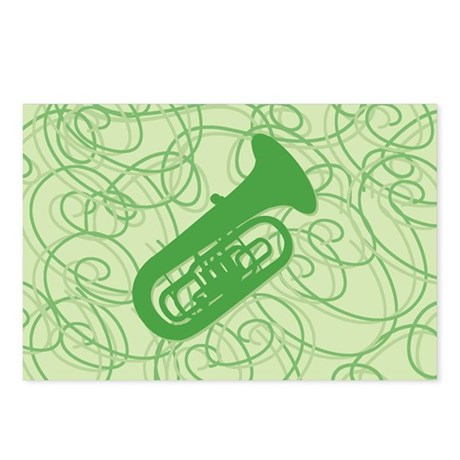Shiny Tuba Postcards (Package of 8)