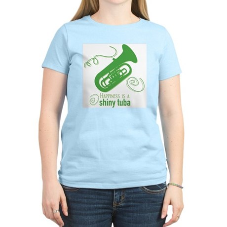 Shiny Tuba Women's Light T-Shirt