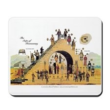 The Steps of Freemasonry Mousepad