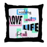 Wishing Throw Pillow