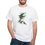 Grosbeaks & Buntings White T-Shirt
