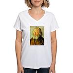 Holzochu Women's V-Neck T-Shirt