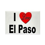 I Love El Paso Texas Rectangle Magnet (10 pack)