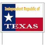 Texas-4 Yard Sign
