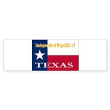Texas-4 Bumper Sticker (50 pk)