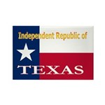 Texas-4 Rectangle Magnet