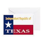 Texas-4 Greeting Card