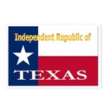 Texas-4 Postcards (Package of 8)