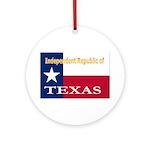 Texas-4 Ornament (Round)