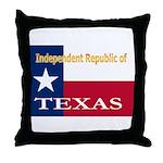 Texas-4 Throw Pillow