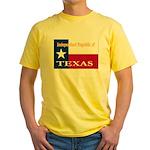 Texas-4 Yellow T-Shirt