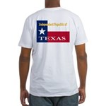 Texas-4 Fitted T-Shirt