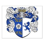 Janssens Family Crest Small Poster