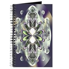 """Peridot"" Fractal Art Journal"
