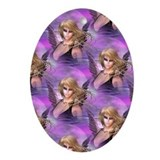 Purple Haze Oval Ornament