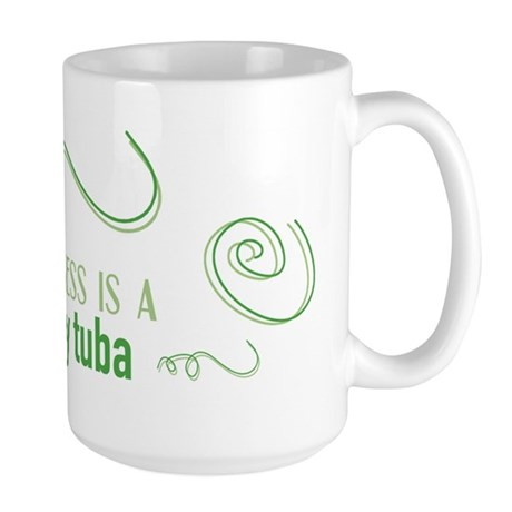 Shiny Tuba Large Mug