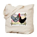 Black SL Chickens Tote Bag