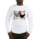 Black SL Chickens Long Sleeve T-Shirt