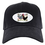 Black SL Chickens Black Cap