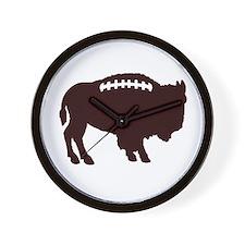 Buffalo Football Wall Clock