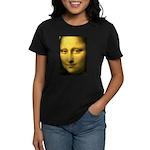 Mona Lisa Detail Women's Dark T-Shirt