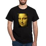 Mona Lisa Detail Dark T-Shirt