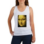 Mona Lisa Detail Women's Tank Top