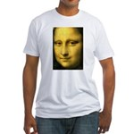 Mona Lisa Detail Fitted T-Shirt