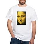 Mona Lisa Detail White T-Shirt