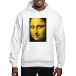 Mona Lisa Detail Hooded Sweatshirt