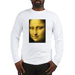 Mona Lisa Detail Long Sleeve T-Shirt