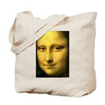 Mona Lisa Detail Tote Bag