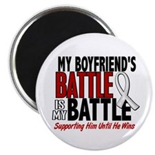 My Battle Too 1 PEARL WHITE (Boyfriend) Magnet