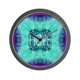 Beautiful Hope Wall Clock