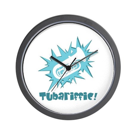 Tubariffic Wall Clock
