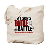 My Battle Too 1 PEARL WHITE (Son) Tote Bag