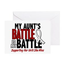 My Battle Too 1 PEARL WHITE (Aunt) Greeting Card