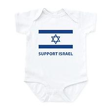 Support Israel Infant Bodysuit