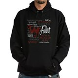 Twilight Addict Quotes Hoody