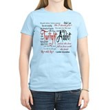 Twilight Addict Quotes  T-Shirt