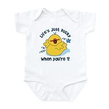 Life's Ducky 1st Birthday Infant Bodysuit