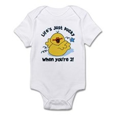 Life's Ducky 2nd Birthday Infant Bodysuit